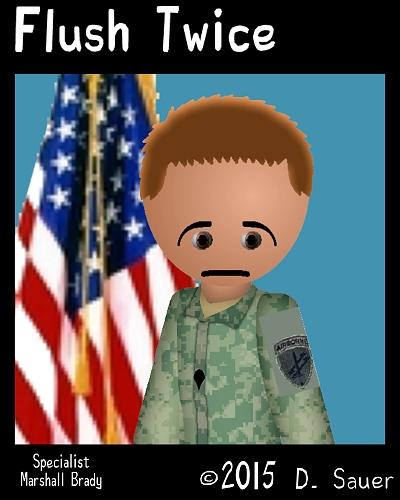 SPC Marshal Brady