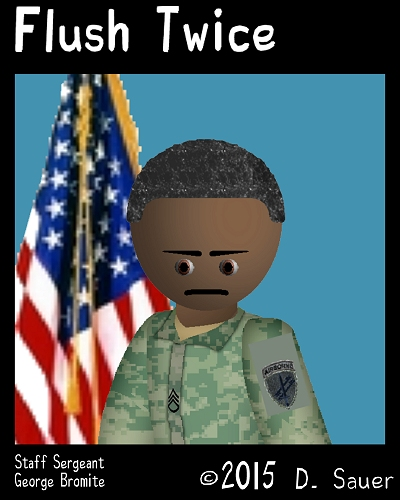 Characters Staff Sergeant George Bromite