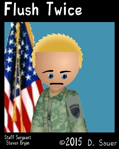 Characters Staff Sergeant Steven Bryan